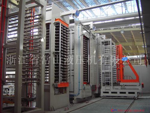 1100T真空液压机组